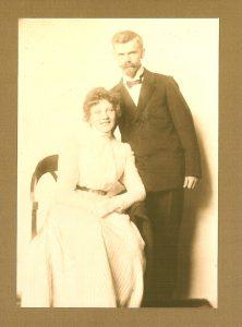 Hans Treiber mit Ehefrau Marietta Treiber geb. Hofmann
